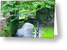 Inistioge Park Greeting Card