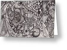 Ink Unfolding Greeting Card