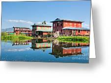 Inle Lake - Myanmar Greeting Card