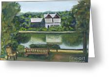 Inn At Lambertville Station Greeting Card