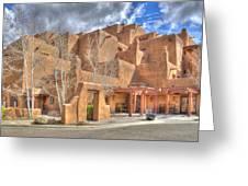 Inn At Loretto Santa Fe Nm Greeting Card