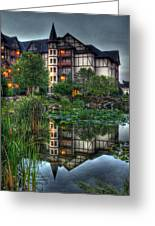 Inn The Reflection Greeting Card