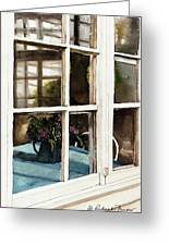 Inn Window Greeting Card