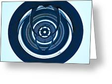 Inner Circles Greeting Card