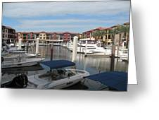 Inner Harbor - Naples Greeting Card