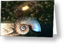 Inner Space Outer Space Greeting Card