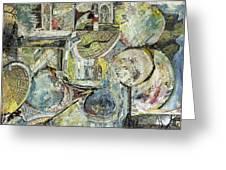 Inner Visions Inner Rooms 4 Floating Greeting Card