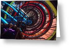 Inner Wheels  Greeting Card