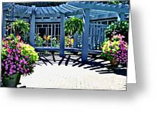 Inniswood Garden Structure Greeting Card