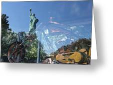 Innovation As Reflection Of Human Liberty Greeting Card