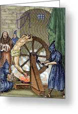 Inquisition Instrument Of Torture Greeting Card