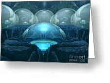 Inside A Blue Moon Greeting Card