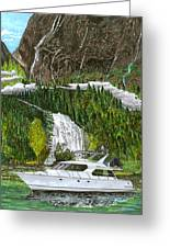 Inside Passage Time Out Greeting Card
