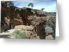 Inside The Grand Canyon Greeting Card