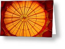 Inside The Red Baloon Greeting Card