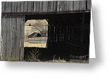 Barn - Kentucky - Inside Treasure Greeting Card