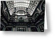 Inside Union Station Greeting Card