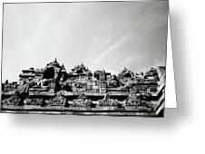Inspiration At Borobudur Greeting Card