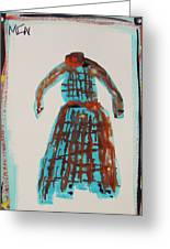 Inspired By Vuillard Greeting Card