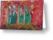 Inspired Dance Greeting Card