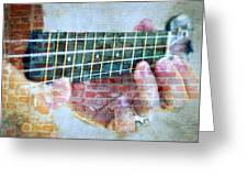 Instrumental Dreams. Greeting Card