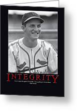 Integrity Stan Musial Greeting Card