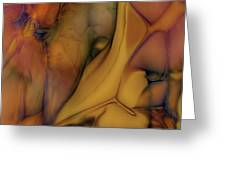 Intensity In Glass Greeting Card