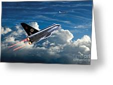 Interceptor Greeting Card