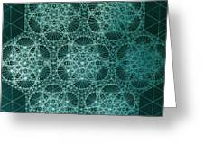 Interference Greeting Card