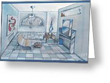 Interior Rendering 2 Greeting Card