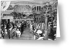 Interior View Of The Moulin De  La Greeting Card