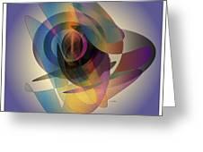 Interlocking  Circles Greeting Card
