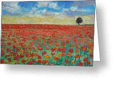 Interlude Greeting Card by Michael Creese