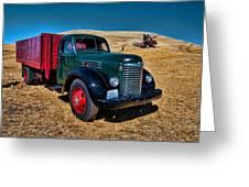 International Farm Truck Greeting Card