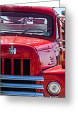 International Harvester R-185 Greeting Card