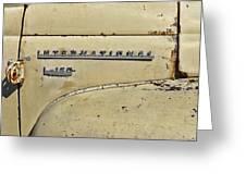 International L-120 Series Greeting Card