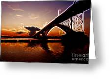 International Peace Bridge Greeting Card