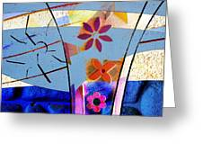 Interstate 10- Exit 256- Grant Rd Underpass- Rectangle Remix Greeting Card