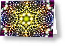 Interstellar Mind Travel Greeting Card