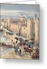 Interview Of Aigues-mortes Greeting Card