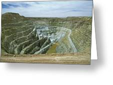 Inti Raymi Gold Mine Quarry In Oruro Greeting Card
