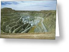Inti Raymi Gold Mine Quarry In Oruro Greeting Card