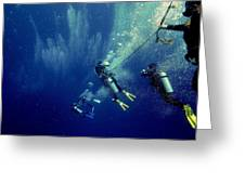 Into The Abyss Greeting Card