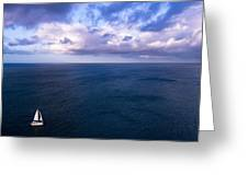 Into The Blues Greeting Card