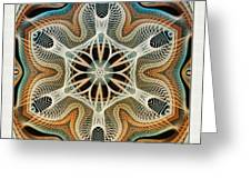 Into The Cortex Greeting Card