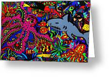 Into The Deep Greeting Card