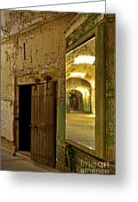 Into The Looking Glass Greeting Card