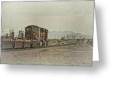 Into The Mojave Greeting Card