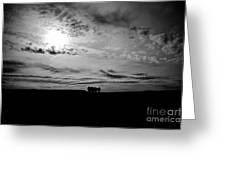 Into The Void Greeting Card