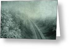 Into Unknown Greeting Card